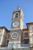 Clock Tower in Rimini. Stock Photos