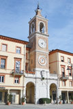 Clock Tower in Rimini. Stock Image