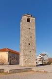 Clock Tower (Sahat Kula)  in Podgorica, Montenegro Royalty Free Stock Photography