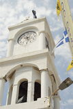 Clock tower Samos Royalty Free Stock Photo