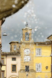 Clock tower in San Severnio Royalty Free Stock Images