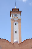 Clock tower Santa Cruz de Tenerife Stock Photography