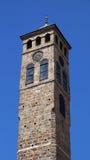 Clock Tower in Sarajevo Stock Image