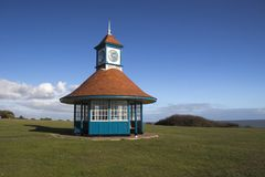 Clock Tower and Shelter, Frinton-on-Sea, Essex, England Stock Images