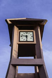 The Clock Tower shown time 5.47 p.m. Royalty Free Stock Photography