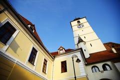 Clock Tower in Sibiu Stock Image
