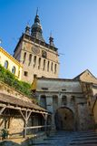 The Clock Tower, Sighisoara Stock Photography