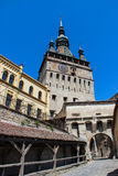 The Clock Tower in Sighisoara Royalty Free Stock Images