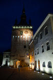 The Clock Tower, Sighisoara, Mures, Romania Royalty Free Stock Image