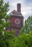 Clock tower. Single clocks/clock tower/clock Stock Image