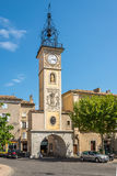 Clock Tower of Sisteron Stock Photo