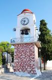 Clock tower, Skiathos Royalty Free Stock Photo