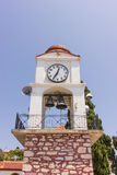 Clock tower, Skiathos Stock Photos