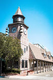 Clock Tower in Solvang Royalty Free Stock Photo