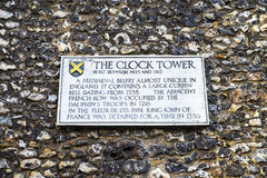 The Clock Tower in St. Albans Royalty Free Stock Photo