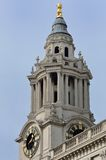 Clock Tower St Pauls Cathedral Royalty Free Stock Photography