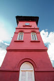 The Clock Tower of the Stadthuys. Is located in Malacca, Malaysia Stock Photography
