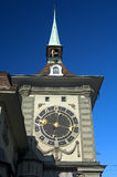 Clock tower, Switzerland Royalty Free Stock Photo