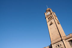 Clock tower in Sydney. Royalty Free Stock Images