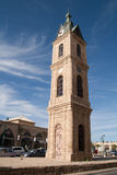 Clock tower in Tel Aviv, Israel Stock Photo