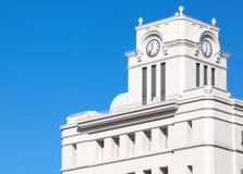 Clock Tower at tokyo asakusa Stock Photo