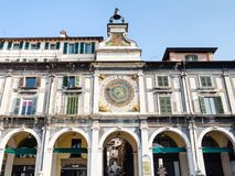 Free Clock Tower Torre Dell`Orologio On Piazza Loggia Royalty Free Stock Photo - 141891805