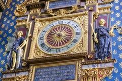 The clock tower (Tour de l'Horloge) - Paris Stock Photo