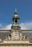 Clock tower. Town Hall. Tours. France Stock Photos