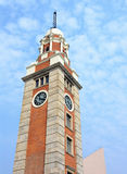 Clock tower in Tsim Sha Tsui Royalty Free Stock Image