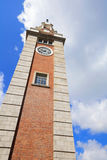 Clock tower in Tsim Sha Tsui Stock Image