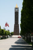Clock tower in Tunis Royalty Free Stock Photography