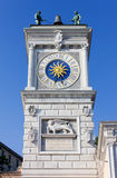 Clock Tower in Udine Royalty Free Stock Photos