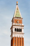 Clock tower in Venice, Italy. Stock Image