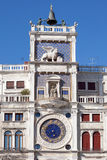 The Clock Tower in Venice Royalty Free Stock Photos