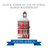 Clock Tower Victoria Alfred Waterfront South Afric Royalty Free Stock Images