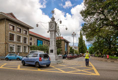 The Clock tower of Victoria, Mahe, Seychelles Royalty Free Stock Image