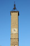 Clock tower of Viterbo Stock Image