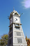 The Clock Tower of wat Thai. Stock Image