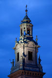 Clock Tower of the Wawel Cathedral in Krakow Royalty Free Stock Image
