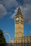 Clock Tower at Westminster London Stock Image