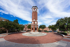 Clock Tower at WSSU Royalty Free Stock Images