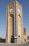Clock Tower, Yazd, Iran, Asia Royalty Free Stock Images