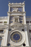 Clock tower with zodiac (Venice ,Italy) Royalty Free Stock Photo