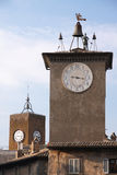 Clock towers Royalty Free Stock Photo