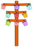 Clock Tree Royalty Free Stock Photo