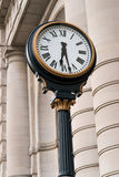 Clock at Union Station Kansas City Missouri Stock Photo