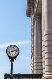 Clock at Union Station Kansas City Missouri Stock Photos