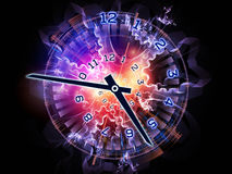 Clock universe Royalty Free Stock Image