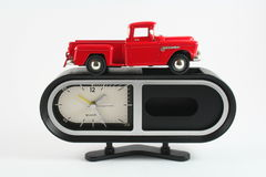 Clock. Is used in everyday life Royalty Free Stock Photo