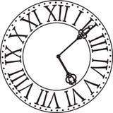 Clock vänder mot Royaltyfri Fotografi